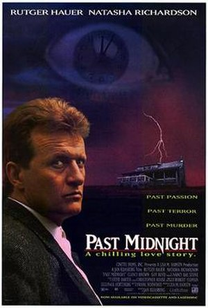 Past Midnight - Video release poster