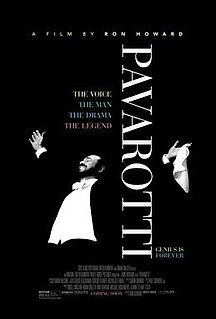 <i>Pavarotti</i> (film) 2019 documentary film directed by Ron Howard
