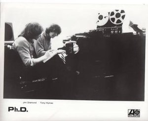 Ph.D. (band) - Jim Diamond and Tony Hymas, 1981.