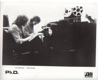 Ph.D. (band) - Jim Diamond and Tony Hymas, 1981.