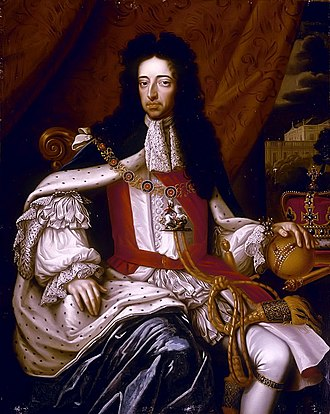 Colonial period of South Carolina - Image: Portrait of William III, (1650 1702)
