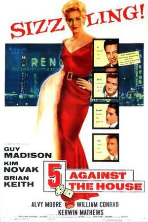 5 Against the House - Theatrical release poster
