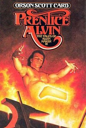 Prentice Alvin - Cover of first edition (hardcover)