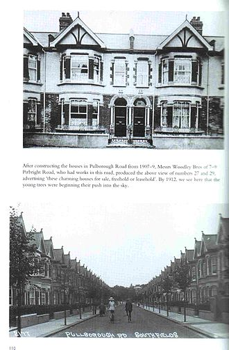 Southfields - Photo taken in 1912