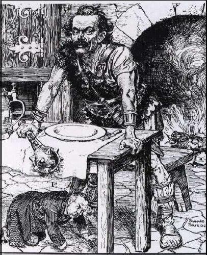Punch cartoon 28 April 1909