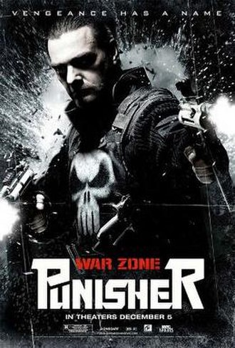 Punisher: War Zone - Theatrical release poster