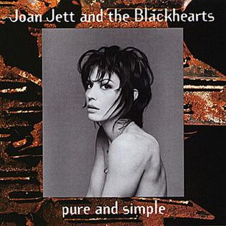 Pure and Simple (Joan Jett album) - Image: Pure and Simple