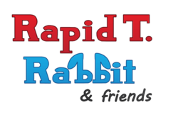 Rapid T. Rabbit and Friends logo.png