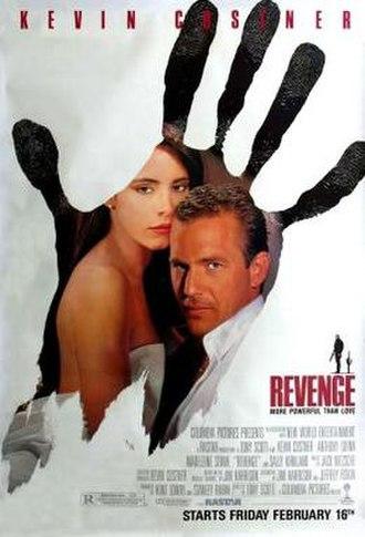 Revenge (1990 film) - Theatrical release poster