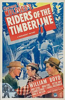 <i>Riders of the Timberline</i> 1941 film by Lesley Selander