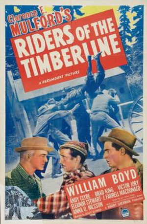 Riders of the Timberline - Theatrical release poster