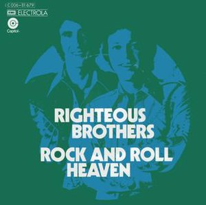 Rock and Roll Heaven - Image: Rock and Roll Heaven Righteous Brothers