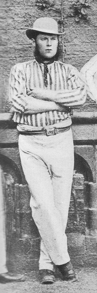Yorkshire County Cricket Club - Roger Iddison, the first captain of Yorkshire: he led the team until 1872.