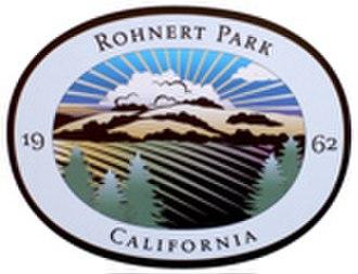Rohnert Park, California - Image: Rohnert Park Logo Ed 2662