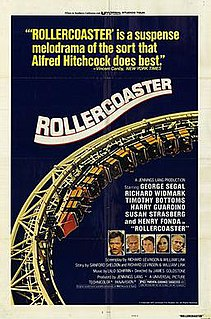 <i>Rollercoaster</i> (1977 film) 1977 American disaster-suspense film directed by James Goldstone