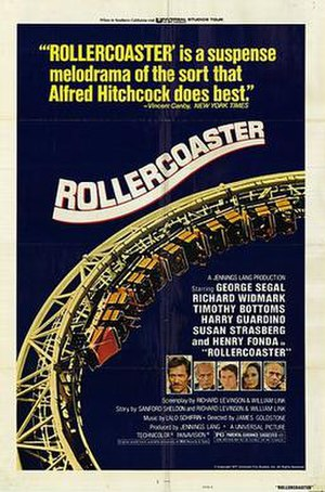 Rollercoaster (1977 film) - Promotional poster of Rollercoaster