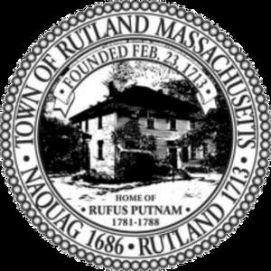 Rutland, Massachusetts - Image: Rutland MA seal