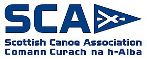 Scottish Canoe Association - Image: SCA Scottish Canoe Association Canoe Scotland Logo