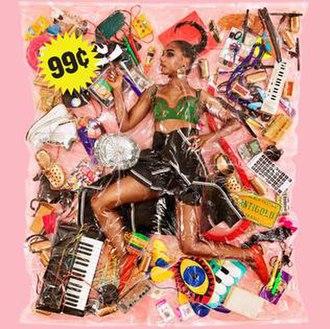 99¢ (Santigold album) - Image: Santigold 99¢