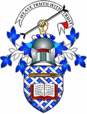 Scottish Tartans Authority - The coat of arms of the Scottish Tartans Authority, granted in 2004
