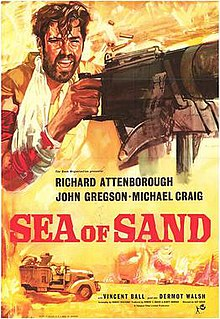 <i>Sea of Sand</i> 1958 film by Guy Green