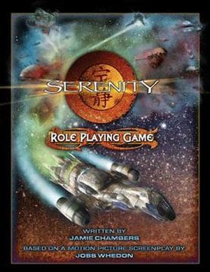 Serenity Role Playing Game - Image: Serenity RPG Cover