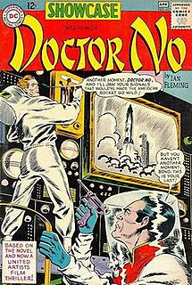 James Bond (comics) Wikimedia list article