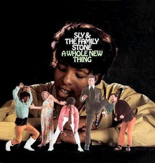<i>A Whole New Thing</i> (Sly and the Family Stone album) 1967 studio album by Sly and the Family Stone