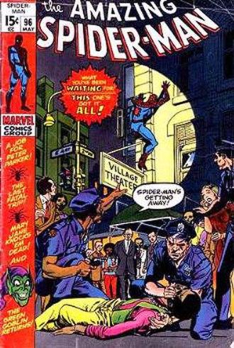 Green Goblin Reborn! - Image: Spider Man 96
