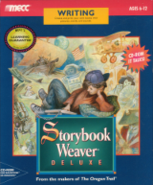 Storybook Weaver - Image: Storybook Weaver Deluxe software box art