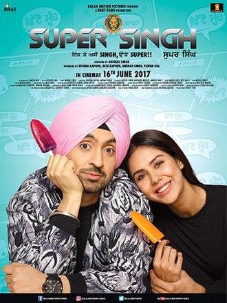 Super Singh - Image: Super Singh Poster