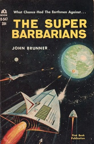 The Super Barbarians - Cover of the first edition