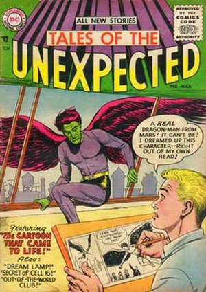 Tales of the Unexpected (comics) - Image: Tales unexpected 001