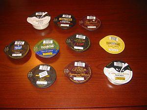Tassimo T-Discs, assortment.