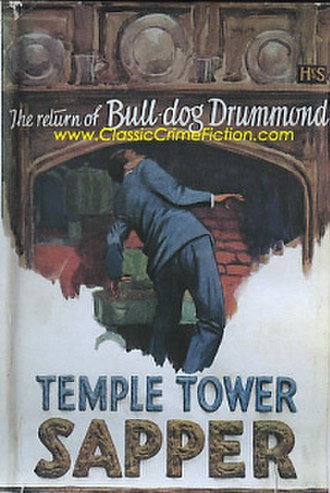 Temple Tower (novel) - First edition cover of Temple Tower
