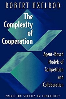 <i>The Complexity of Cooperation</i> book by Robert Axelrod