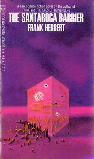 The Santaroga Barrier - Cover of first edition (paperback)