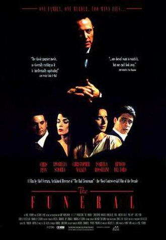The Funeral (1996 film) - Theatrical release poster