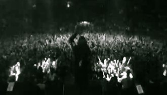 "The Nameless - Screenshot of ""The Nameless"" music video."