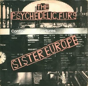 Sister Europe - Image: The Psychedelic Furs Sister Europe