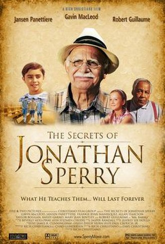 The Secrets of Jonathan Sperry - Image: The Secrets of Jonathan Sperry