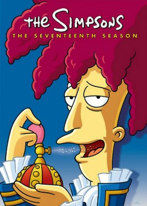 The Simpsons (season 17) - DVD cover