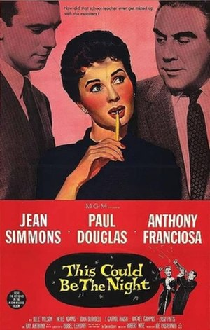This Could Be the Night (film) - VHS Cover