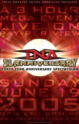 Slammiversary (2005) - Promotional poster for the event