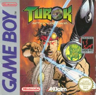 Turok: Battle of the Bionosaurs - European cover art