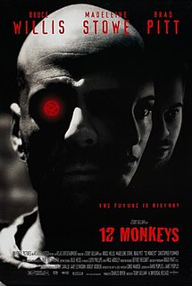 <i>12 Monkeys</i> 1995 American science fiction film directed by Terry Gilliam