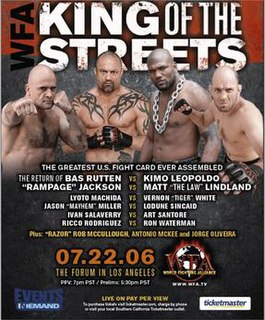 WFA: King of the Streets World Fighting Alliance MMA event in 2006