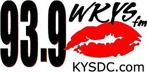 WKYS - a former logo of WKYS has been used until 2013