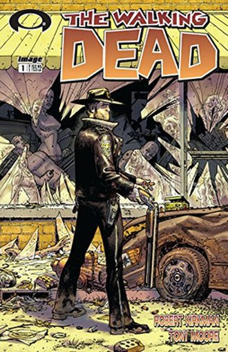 The Walking Dead (comic book) - Cover of The Walking Dead No. 1. Art by Tony Moore.