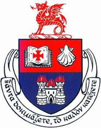 Wesley College (Dublin) - Image: Wesley Crest
